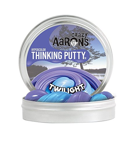 Crazy Aaron Thinking Putty  Twilight  2 L  Hyper Color