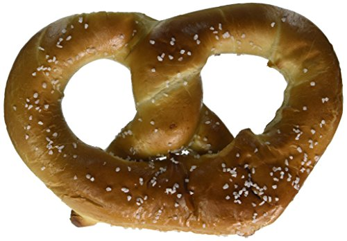 PretzelHaus Bakery Authentic Bavarian Plain Soft Pretzel, Pack of 10 by PretzelHaus Bakery (Image #1)