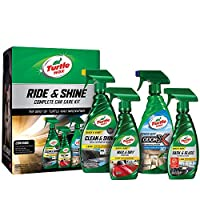 Turtle Wax 50718 Ride & Shine Complete Car Care Kit