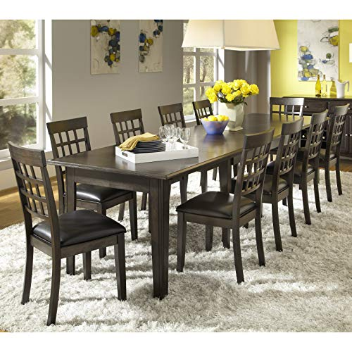 (Simply Solid Corina Solid Wood 11-Piece Dining Collection)