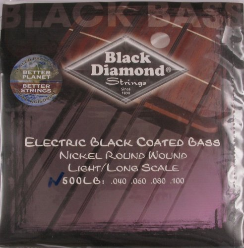Black Diamond Electric Bass - 4