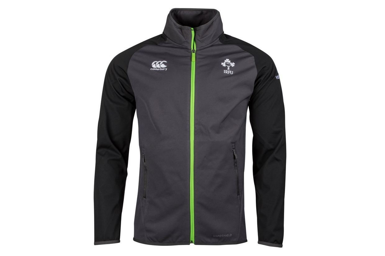 2017-2018 Ireland Rugby Vaposhield Anthem Jacket (Asphalt) B073V1L2JSGrey XL 46\
