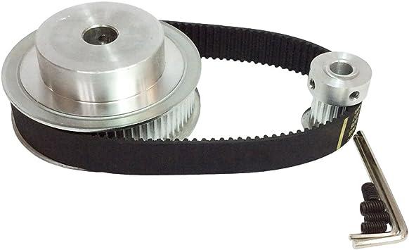 3M 60T Timing Belt Pulley Gear Wheel Sprocket 5-15mm Bore For 10//15mm Width Belt
