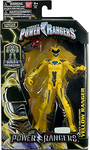 Limited Edition Mighty Morphin Power Ranger Legacy Movie Figures Toys R Us Exclusive Yellow Ranger