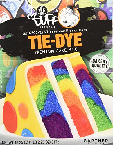 - Duff Decorating Mix Cake Tie Dye (Pack of 2)