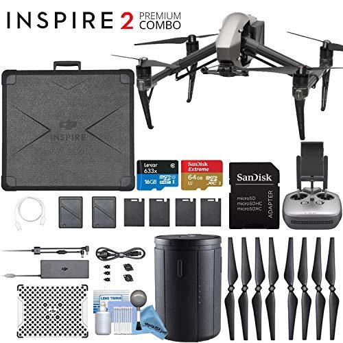 DJI Inspire 2 Quadcopter Drone Upgrade Bundle
