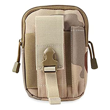 2fbfa67a4731 SODIAL(R) Army Molle Oxford Waist Belt Bags Wallet Pouch Purse Outdoor Sport  Army