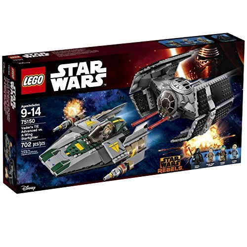 Lego Star Wars Vaders Tie Advanced Vs  A Wing Starfighter 75150 Parallel Imports
