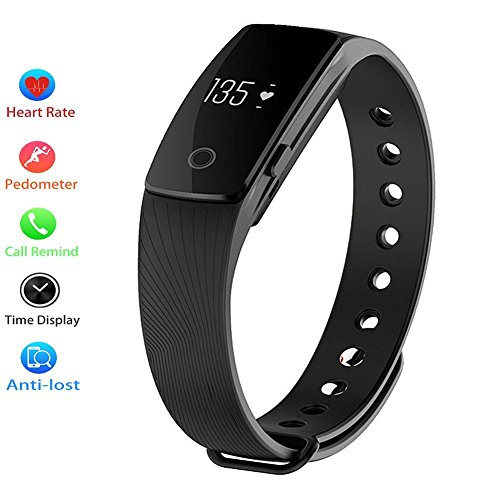 Waterproof Pedometer Wristband Bluetooth Compatible