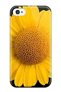 Hot New Yellow Flowers Case Cover For Iphone 4/4s With Perfect Design