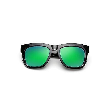 DT Gafas de Sol polarizadas para Hombre Gafas de Sol cuadradas Grandes (Color : 5