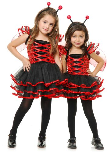 Big Girls' Lady Bug Cutie Costume Medium (6-8)