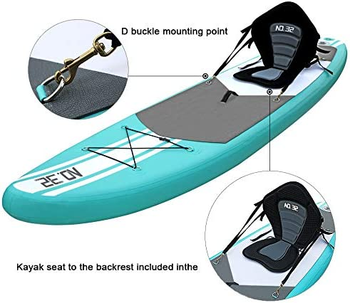 Tabla Hinchable de Paddle Surf + SUP Paddle Remo de Ajustable