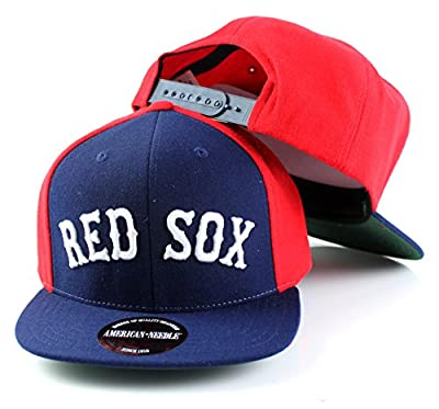 MLB American Needle Scripteez Cooperstown Wool Adjustable Snapback Hat (Boston Red Sox)