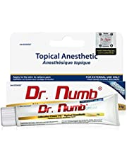 Dr. Numb 5% Lidocaine Topical Anesthetic Numbing Cream for Pain Relief, Maximum Strength with Vitamin E for Real Time Relieves of Local Discomfort, Itching, Pain, Soreness or Burning - 10g (1)
