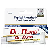 Dr. Numb 5% Lidocaine Topical Anesthetic Numbing Cream for Pain Relief, Maximum Strength with Vitamin E for Real Time…
