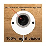 Nest Cam & Dropcam Pro Outdoor Camera Enclosure in White, 100% Night Vision Guaranteed & Weatherproof - by Dropcases - Available in 9 Different Colors, Weather Resistant and Durable Acrylic Materials