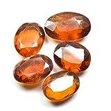 Genuine Ceylon Hessonite 20.65 Carat Loose Gemstone Lots 5 Pieces Birthstone Wholesale Lot Jewelry making