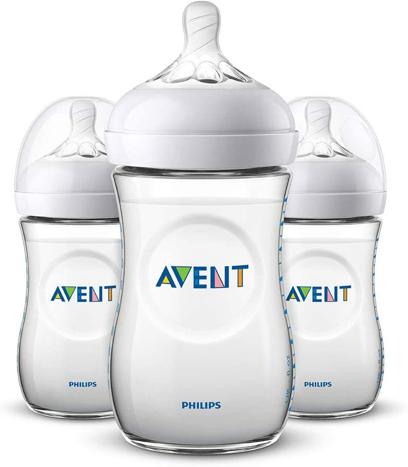 3 Pack Replacement Feeding Bottle Caps Compatible for Avent Natural Baby Feeding Bottle top