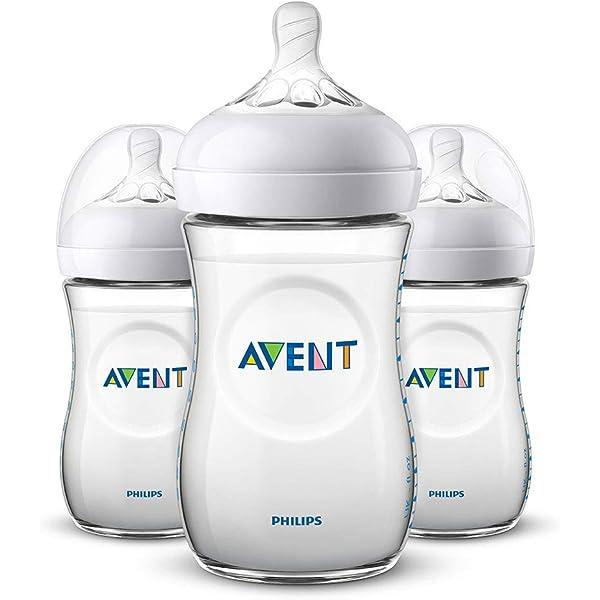 Baby Feeding Bottle 260ml//9oz NEW Pack Of 3 Philips Avent SCF563//37 Classic