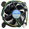 "Intel Core i3/i5/i7 Socket 1150/1155/1156 4-Pin Connector CPU Cooler With Aluminum Heatsink & 3.5"" Fan For Desktop PC Computer by Gadgets World"