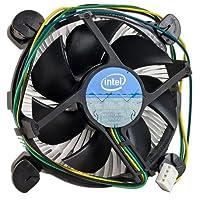 """Gadgets World Intel Core i3 /i5 /i7 Socket 1150/1155/1156 Conector de 4 pines Refrigerador de CPU con disipador de calor de aluminio y ventilador de 3.5 """"para computadora de escritorio"""
