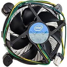 "Gadgets World Intel Core i3/i5/i7 Socket 1150/1155/1156 4-Pin Connector CPU Cooler With Aluminum Heatsink & 3.5"" Fan For Desktop PC Computer"