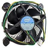 Gadgets World Intel Core i3/i5/i7 Socket 1150/1155/1156 4-Pin Connector CPU Cooler With Aluminum Heatsink & 3.5' Fan For Desktop PC Computer