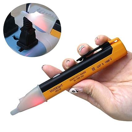 Amazon.com: QXKMZ - Lápiz LED de alarma de voltaje de luz ...