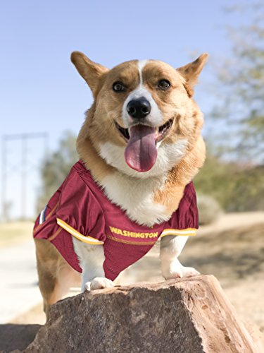Image of Pets First NFL WASHINGTON REDSKINS DOG Jersey, X-Large