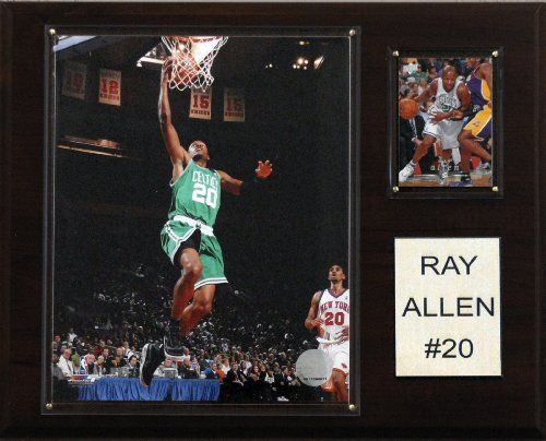 NBA Ray Allen Boston Celtics Player Plaque