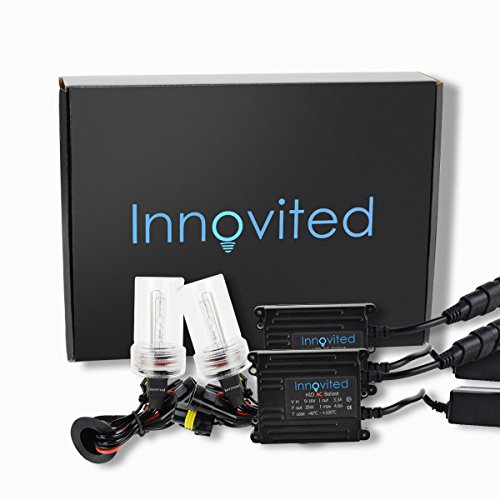 Innovited AC 35W HID Xenon Conversion Kit - H11 H9 H8 - 5000K - 2 Year Warranty