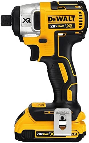 DEWALT DCF886D2 20V XR Lithium Ion Brushless 1 4-Inch Impact Driver Kit