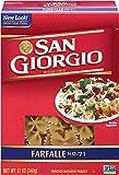 San Giorgio Farfalle, 12-Ounce (Pack of 12)