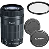 Canon EF-S 55-250mm f/4-5.6 IS STM Telephoto Zoom Lens for Canon DSLR Cameras (Certified Refurbished)