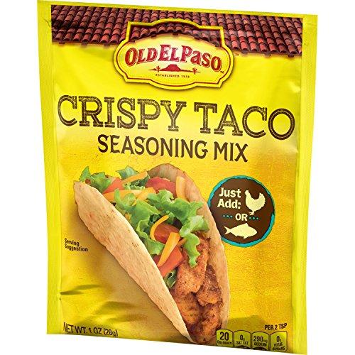 Old El Paso Crispy Taco Seasoning Mix, (Pack of 32)