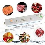 Portable Vacuum Sealer Machine,JETITI Vacuum Sealing System for Food Storage Plus 20 FREE Sealable Bags