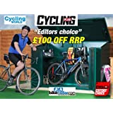 """Bike Storage, Cycle store 6'8"""" x 3'4""""(Supplied Flat Pack) - Secure Bicycle Storage Unit from Asgard"""