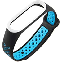 Crazy-Store Silicone Porous Breathable Watch Band for Xiaomi Mi Band 3