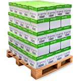Printworks 100 Percent Recycled Multipurpose Paper - Pallet Pricing, 20 Pound, 92 Bright, 8.5 x 11, 2400 Sheets/Carton, 80 Cartons/Pallet, 192,000 Sheets (00018PAL)