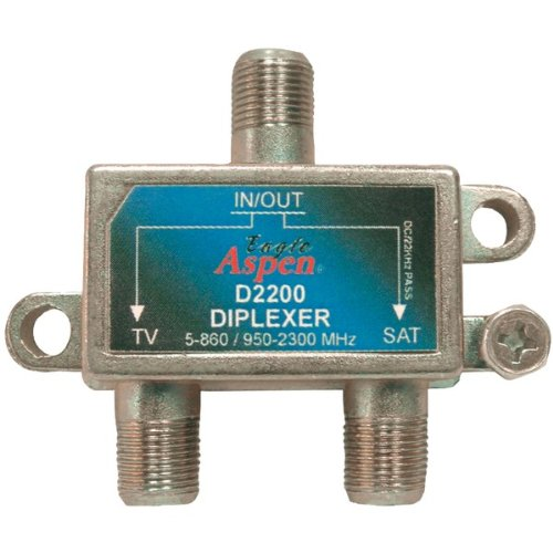 Eagle Aspen D2200 Directv(tm)-listed Single Diplexer (Diplexer Single)