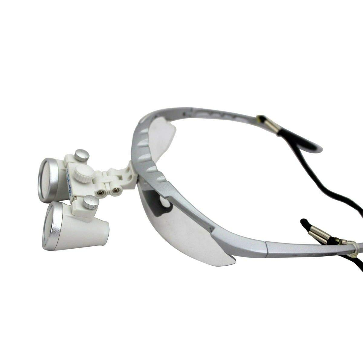 Portable 3.5X 420mm Magnifier Dental Surgical Loupes Lens Optical Glasses with Protective Case (US Shipping)