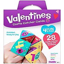 Kangaroo's Cootie Catcher Valentine's Cards (28-Count)