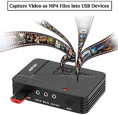 Tarjeta de Captura de vídeo de 1080P con Entrada HDMI y YpbPr ...