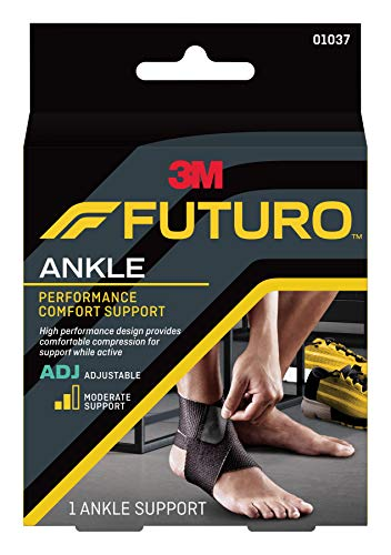 - Futuro Precision Fit Ankle Support, Moderate Support, Adjust to Fit