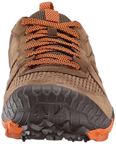 Pour Hommes marron Baskets Out All Marron Basses Merrell Turf Terra nTYPFqUx