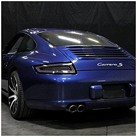 Amazon.com: Spec-D Tuning LT-91105GLED-TM Smoke Tail Light (911 Led): Automotive