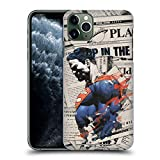 Official Superman DC Comics Newspaper 80th Anniversary Hard Back Case Compatible for iPhone 11 Pro Max