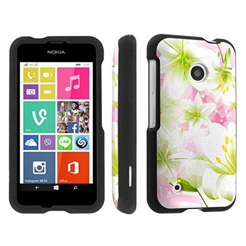 Skinguardz Nokia Lumia 530 (Lily) Designer Hard Protector Case
