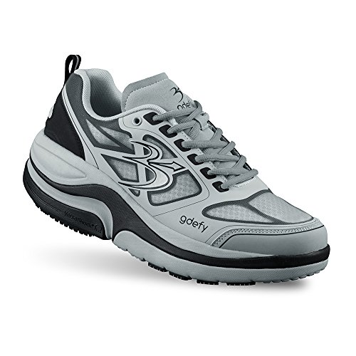 Men's G-Defy Ion Athletic Shoes 10 W US Best Shoes for Plantar Fasciitis Shoes for Heel Pain Gray price tips cheap